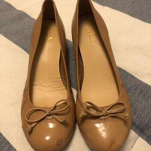 Cole Haan flats with wedge